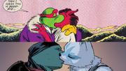 Break up make up kiss