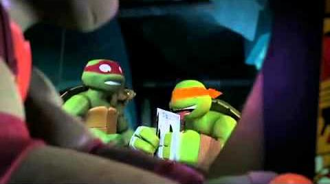 "Teenage mutant ninja turtles ""slash and destroy"" CLIP 2"