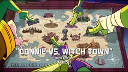 Donnie vs Witch Town titlecard