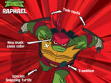 Raphael (Rise of the TMNT)/Gallery