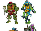Rise of the Teenage Mutant Ninja Turtles (TV series)/Concept Art