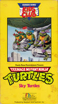 TMNT Sky Turtles VHS