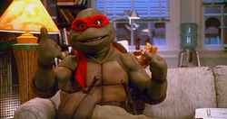 TMNT 2 SECRET OF THE OOZE RAPH CHILLING