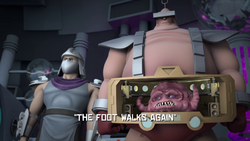 The Foot Walks Again