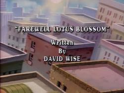 Farewell Lotus Blossom Title Card