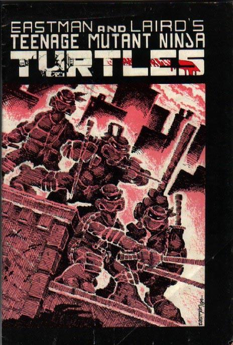 Image result for Teenage Mutant Ninja Turtles #1 1984