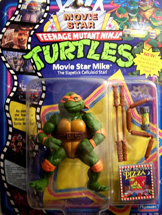 Movie Star Mike 1991 Action Figure Tmntpedia Fandom