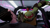 Raph beating Kraang