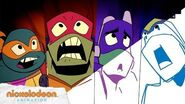 """Origami Tsunami"" Animatic Rise of the TMNT Nick Animation"