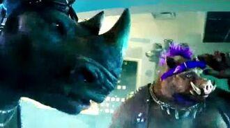 TEENAGE MUTANT NINJA TURTLES 2 TV Spot 34 - Bebop & Rocksteady (2016) TMNT Movie HD