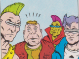 Bebop and Rocksteady's gang (Archie)