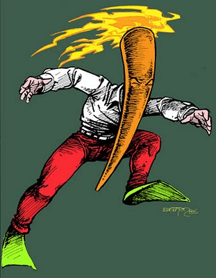 Image result for flaming carrot