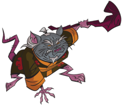 Master Splinter ROTTMNT Render