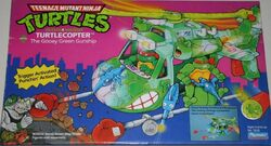Turtlecopter toy