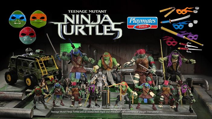 List Of Teenage Mutant Ninja Turtles 2012 Series Action Figures