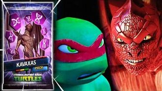 Teenage Mutant Ninja Turtles Legends - KAVAXAS DEMONIC DRAGON GOD. TMNT LEGENDS UPDATE X