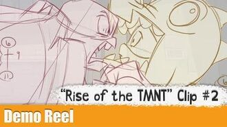 """Rise of the TMNT"" - Rough Animation from ""Reparin' the Baron"""