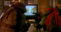 TMNT MOVIE 1 NINJA KICK THE DAMN RABBIT 2