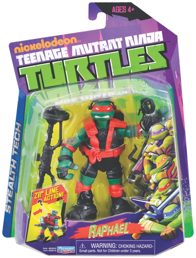 Stealth Tech Raphael 2013 Action Figure Tmntpedia Fandom