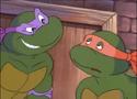 Donatello With Michelangelo