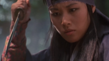 Mitsu With Her Knife Dagger