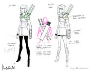 Karai design by dan duncan