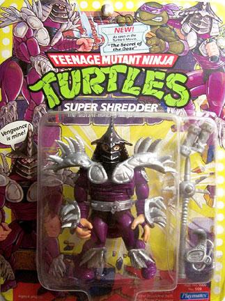 Sinister Spiked Staff TMNT Teenage Mutant Ninja Turtles 1991 Super Shredder