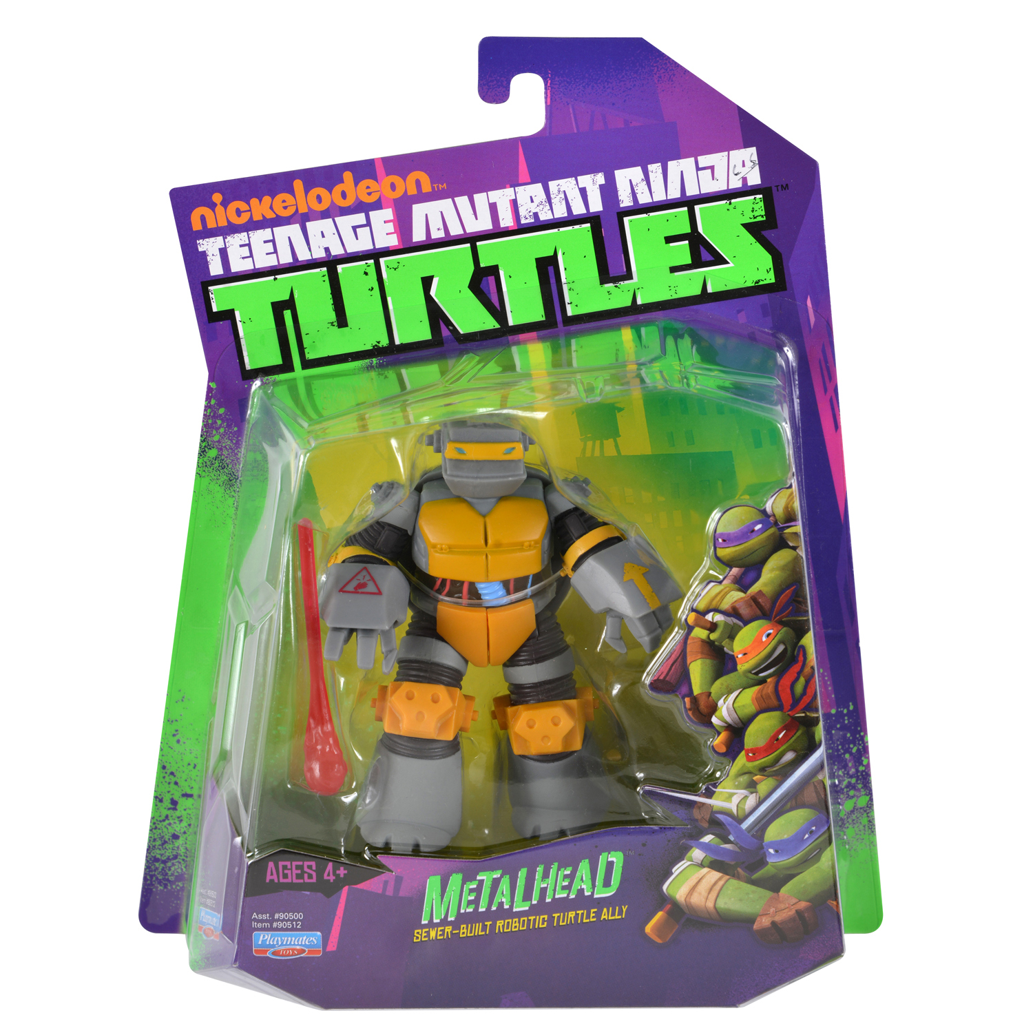 Teenage Mutant Ninja Turtles 2012 Neuralizer Toy : Metalhead action figure tmntpedia fandom