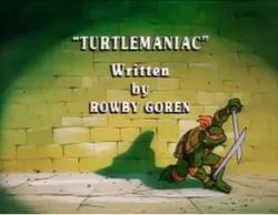 Turtlemaniac Title Card