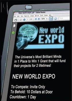 Idw - new world expo