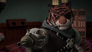 Mano Mecánica Garra de Tigre