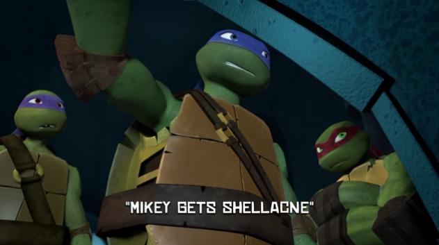 Mikey Gets Shellacne | TMNTPedia | FANDOM powered by Wikia