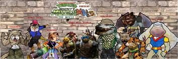 TMNT & Mighty Animals,The Movie