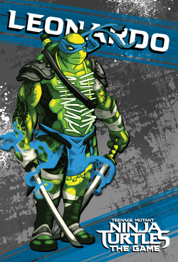 Tmnt card leo front