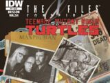 The X-Files: Conspiracy - Teenage Mutant Ninja Turtles issue 1