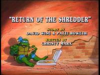 Return of the Shredder