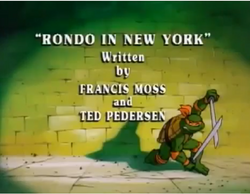 Rondo in New York Title Card
