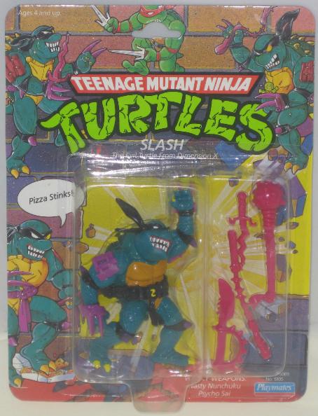Slash 1990 Action Figure Tmntpedia Fandom Powered By Wikia