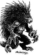 TMNT&OS porcupine