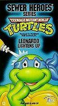 TMNT Leonardo Lightens Up VHS