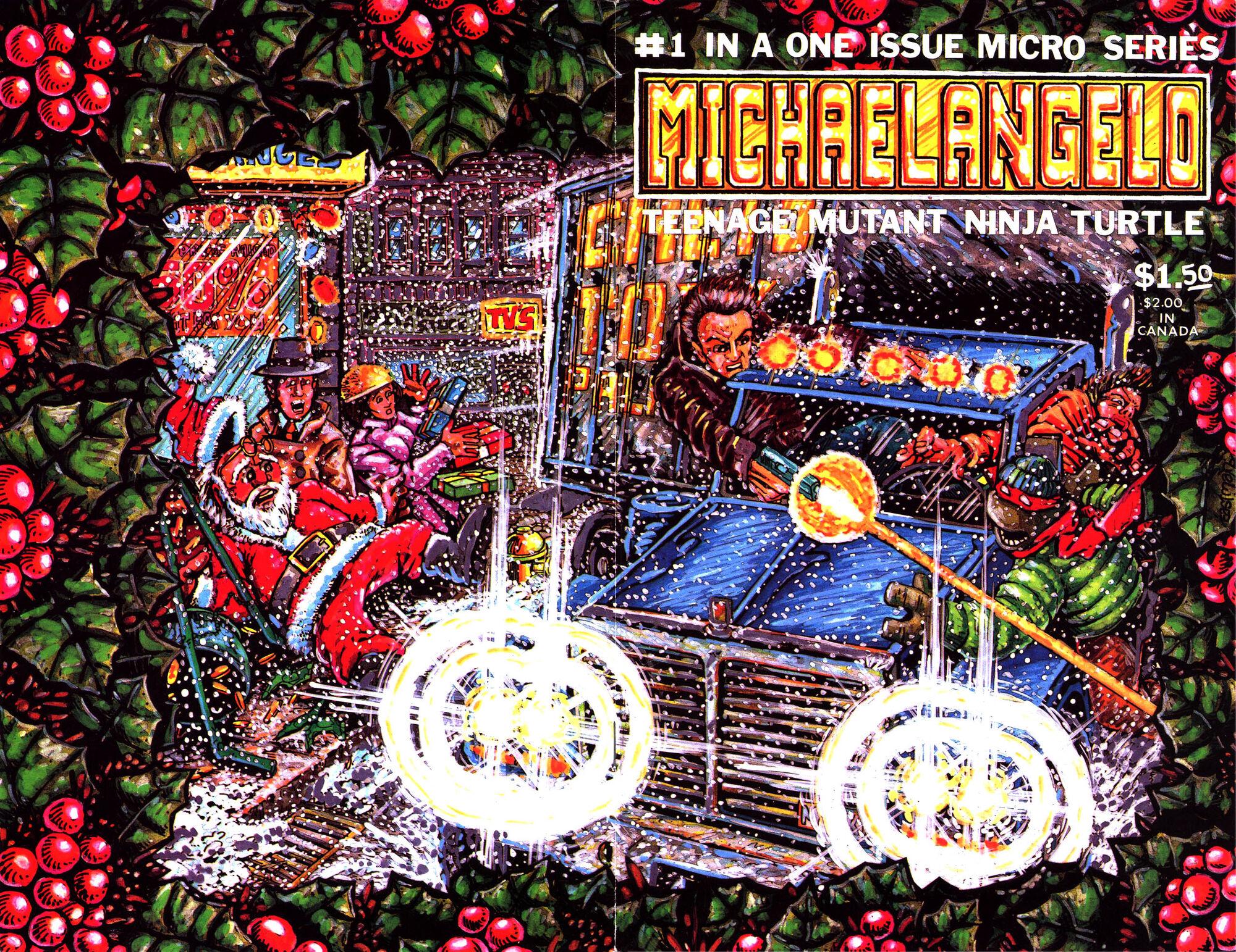Ninja Turtle Christmas Tree.The Christmas Aliens Mirage Tmntpedia Fandom Powered