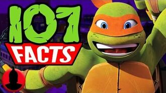107 Facts About Teenage Mutant Ninja Turtles! (ToonedUp 66) @ChannelFred