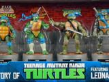 History of Teenage Mutant Ninja Turtles featuring Leonardo