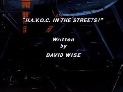 Havoc streets