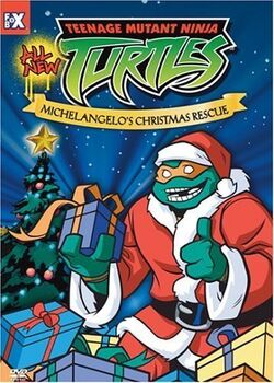 Michelangelo's Christmas Rescue video cover