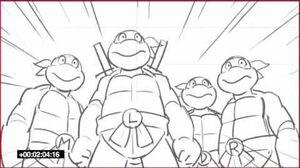 Teenage Mutant Ninja Turtles (Nick Series) 1987 Crossover Sneak Peak-1