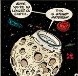 Archie dimension x stump asteroid