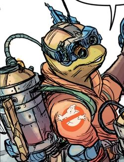 Idw - ghostbuster turtle rookie