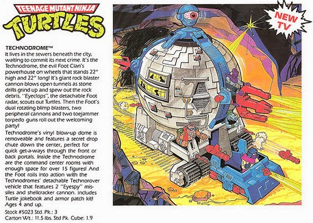 Technodrome Unreleased Toy Tmntpedia Fandom Powered