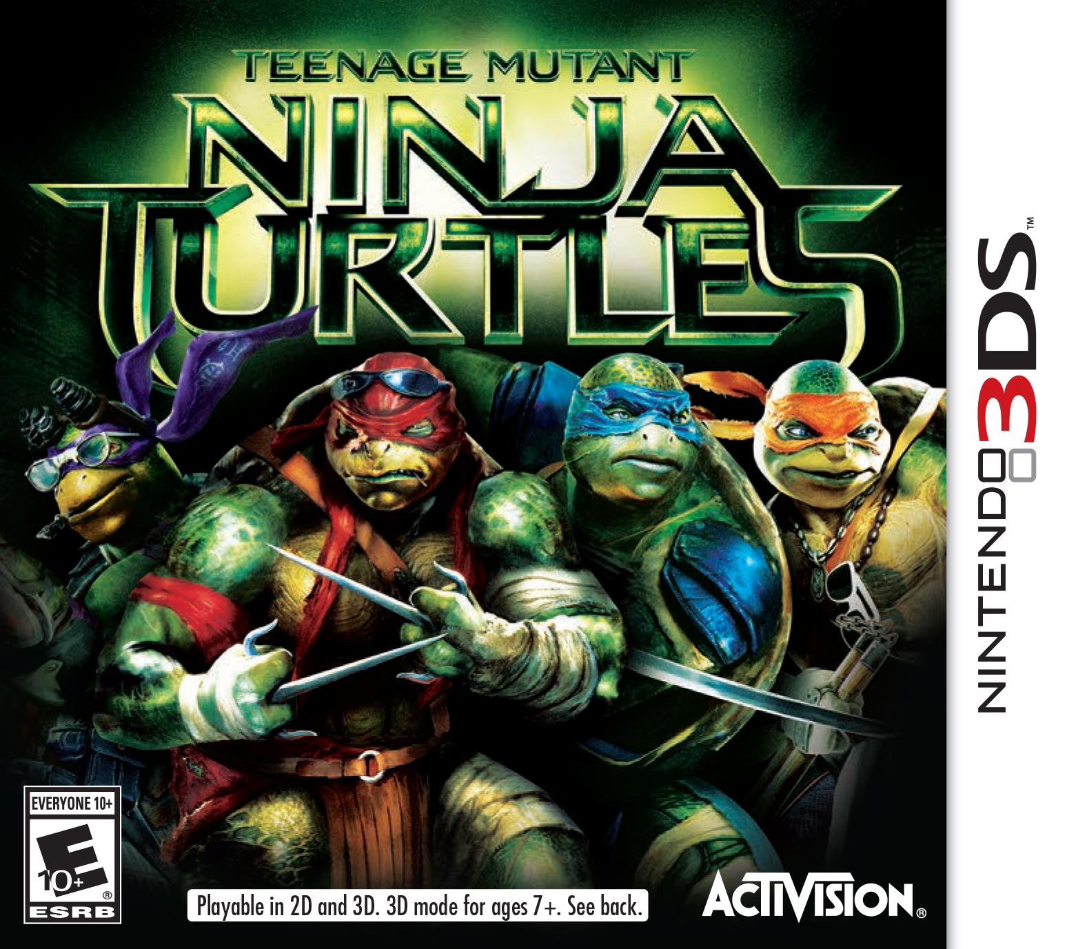 Teenage Mutant Ninja Turtles 2014 3ds Game Tmntpedia Fandom